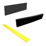 VARIOUS TYPES OF RUBBER CLEARING BLADES