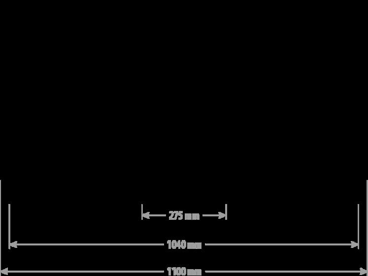 WIDŁY DO PALET XL 3,5-5T FEM3